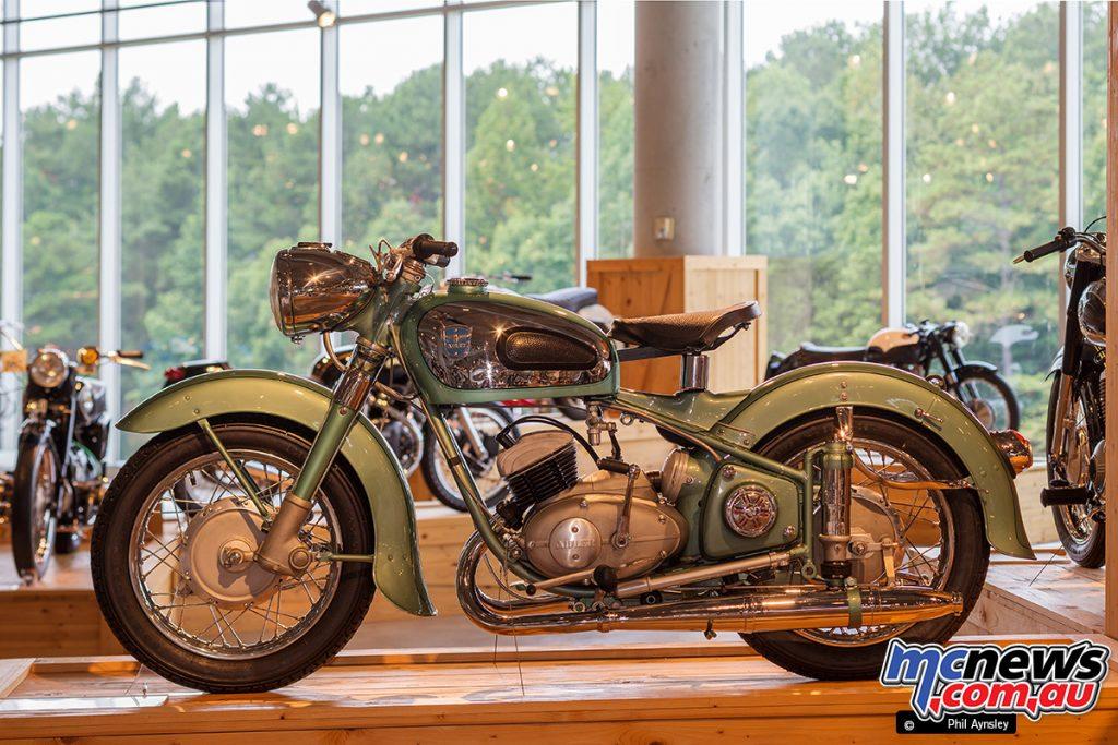 The Barber Vintage Motorsports Museum - Adler MB 250