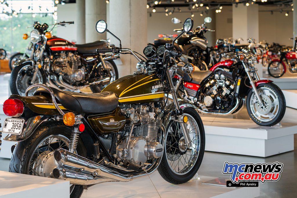The Barber Vintage Motorsports Museum - Kawasaki 900 Z1A