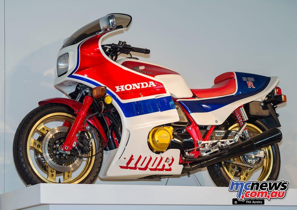 The Barber Vintage Motorsports Museum - Honda CB1100R