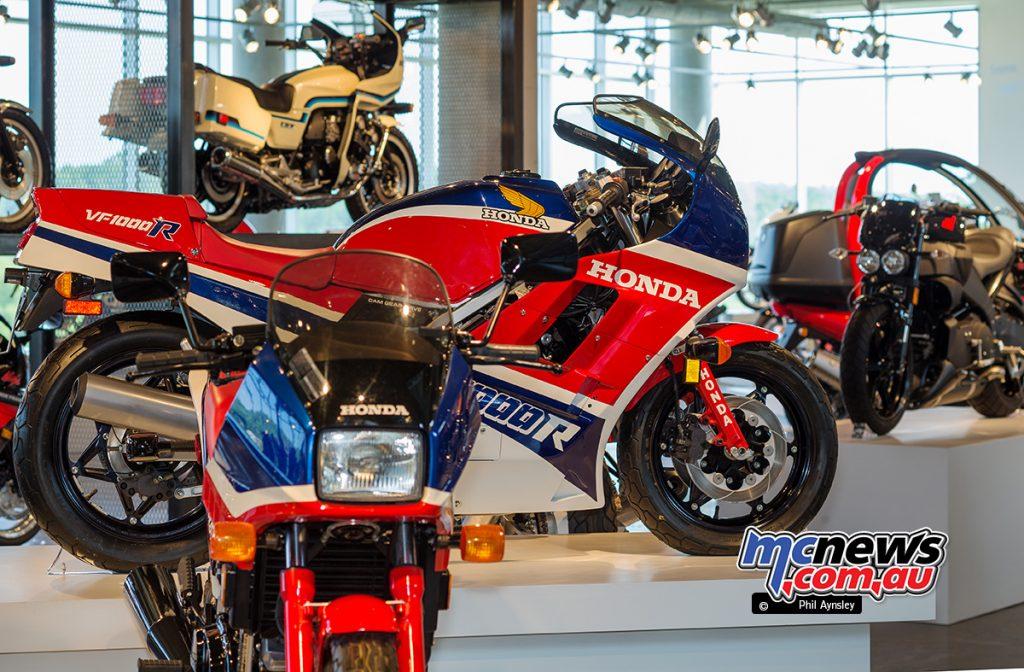 The Barber Vintage Motorsports Museum - Honda VFs