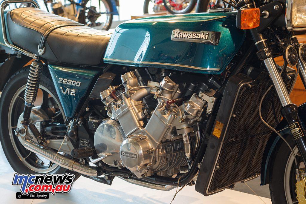 The Barber Vintage Motorsports Museum - Kawasaki Z1 based 2300cc V12