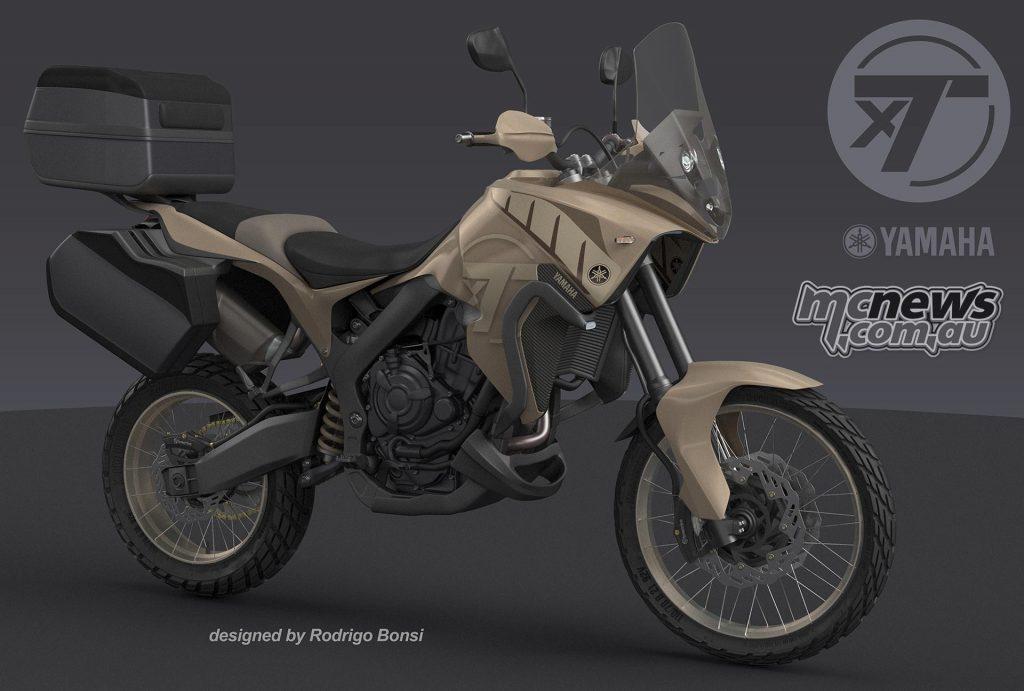 Yamaha MT-07 Tenere | Independent concept | MCNews.com.au