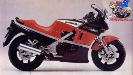 Kawasaki's 600 Supersports | GPZ600R to ZX-6R