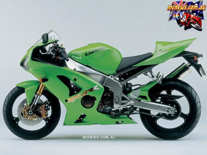 2003 saw the Kawasaki ZX-6RR