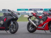Honda's heavily revised for 2017, CBR1000RR Fireblade