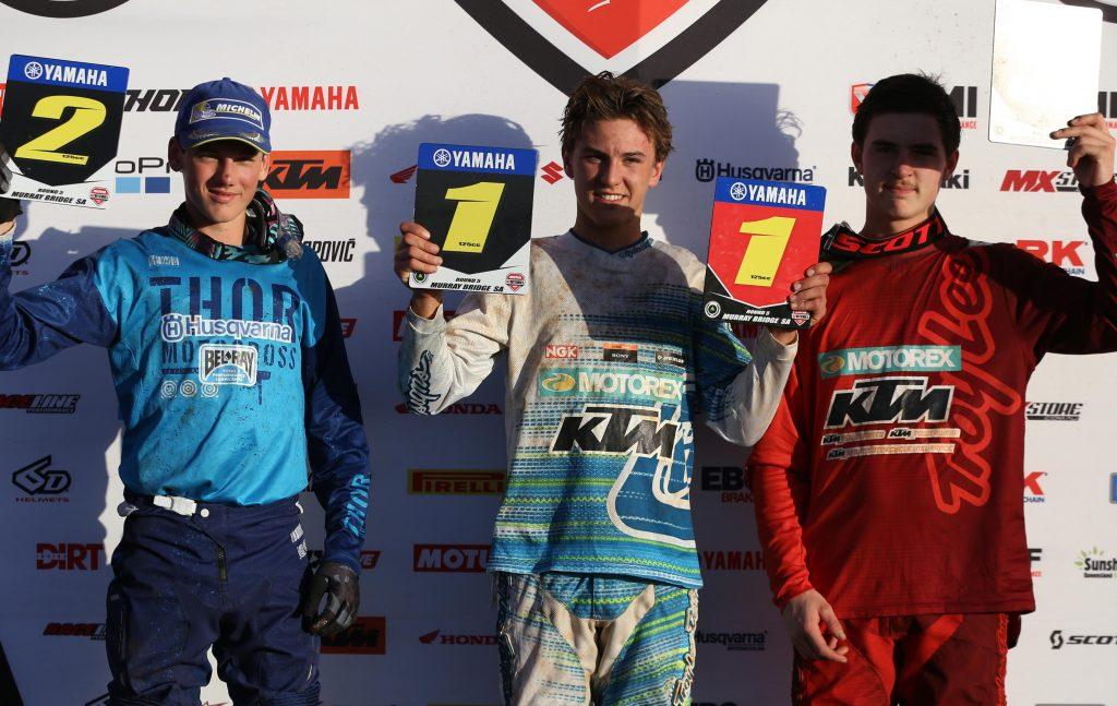 Yamaha 125cc Junior Cup Round 5 Podium