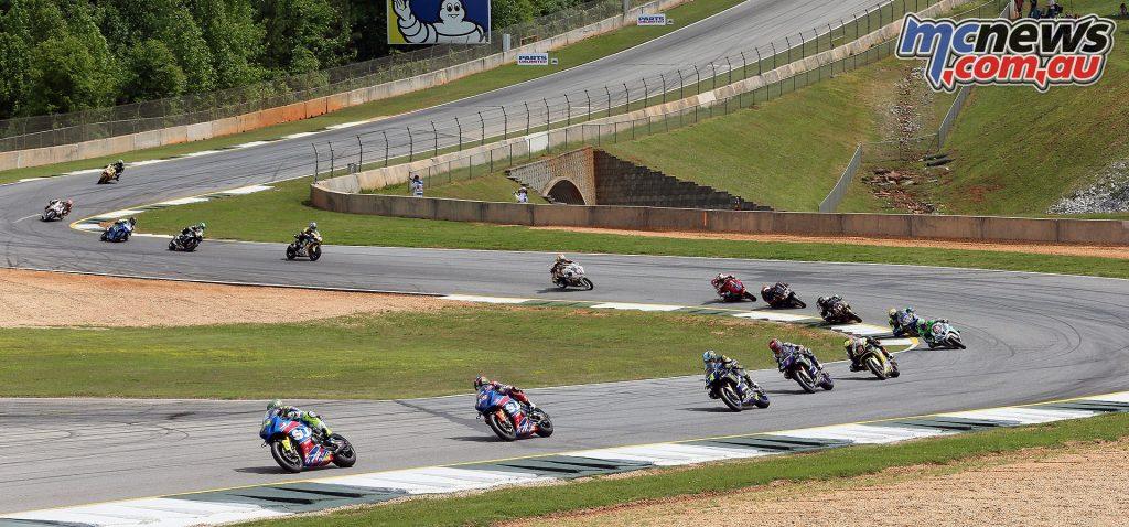 MotoAmerica Superbikes at Road Atlanta - Image by Brian J Nelson