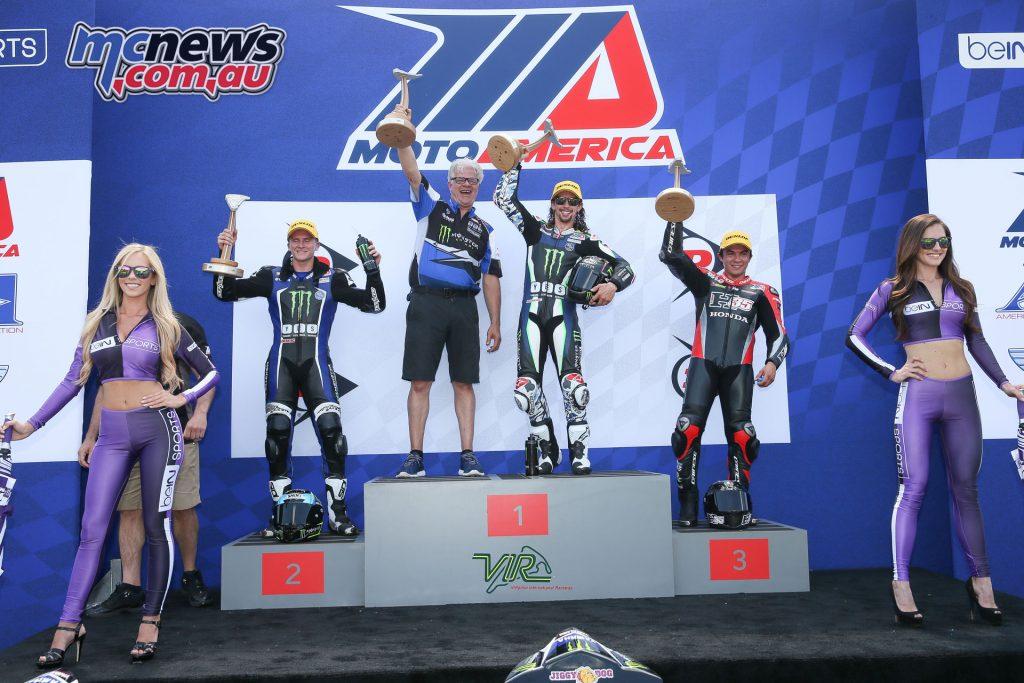 Race 2 Supersport Podium