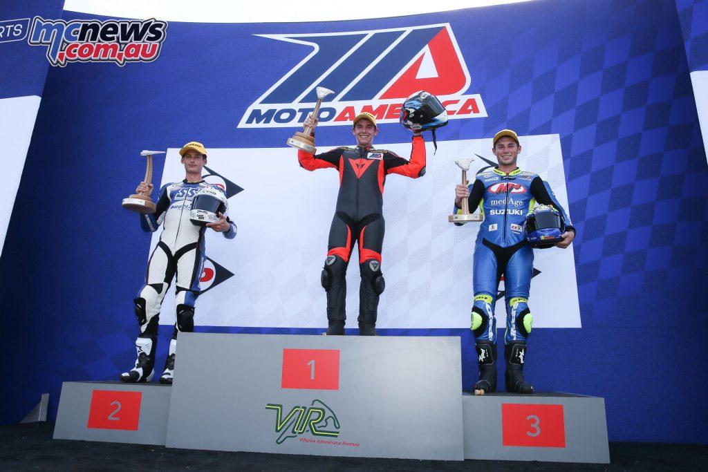 Race 2 Superstock 600 Podium