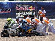 Jack Miller and Alvaro Bautista came togehter at Jerez