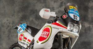 1990 Edi Oroli Cagiva Paris-Dakar Racer
