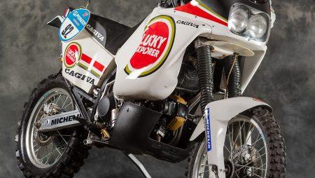 Edi Orioli Cagiva Paris-Dakar Racer | With Phil Aynsley