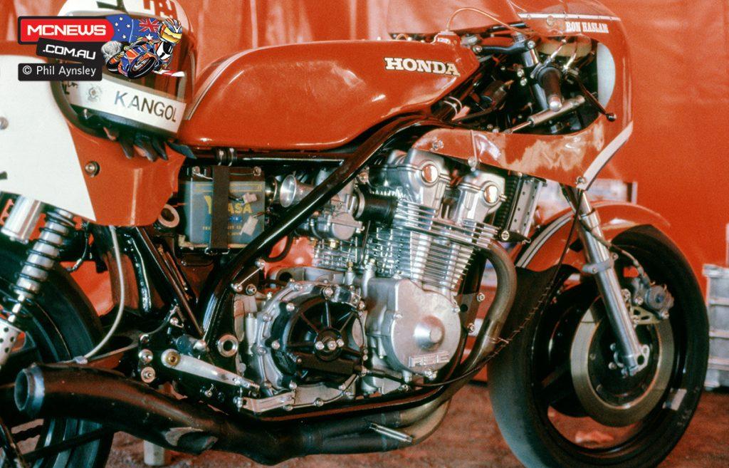 1980 Swann Series - Oran Park - Ron Haslam's Honda