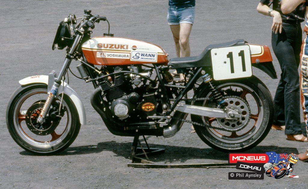 1980 Swann Series - Oran Park - The Mick Hone Suzuki