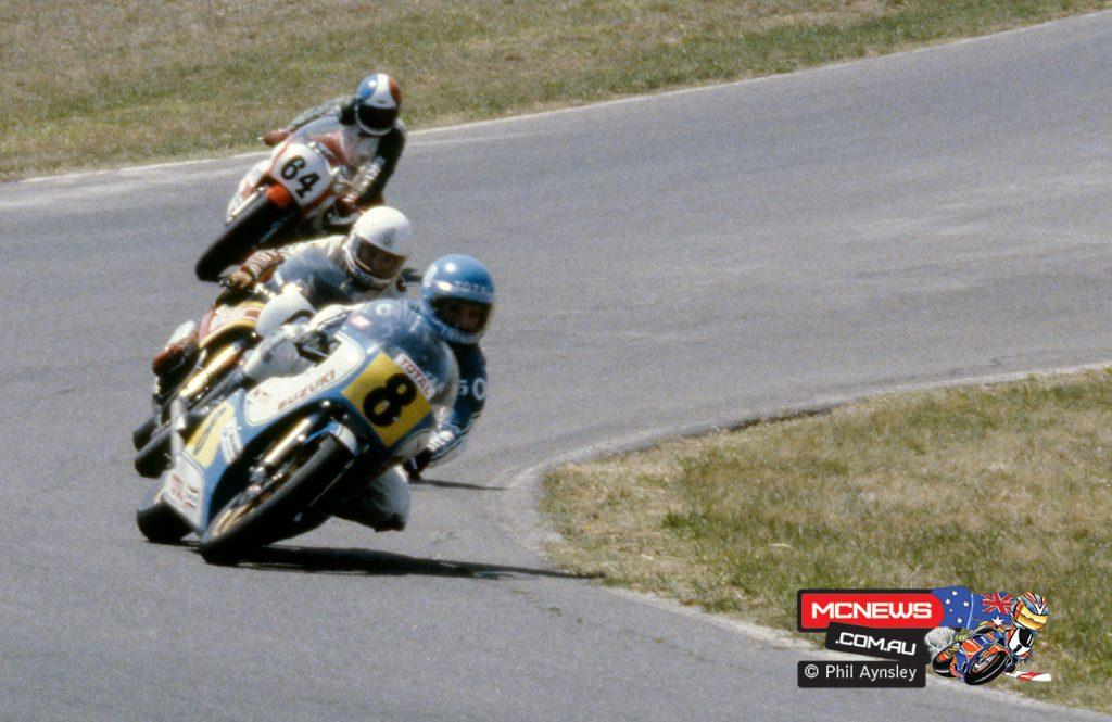 1980 Swann Series - Oran Park - Steve Trinder, Graeme Crosby, Greg Pretty