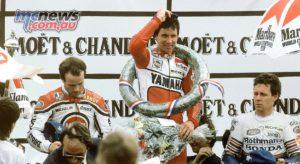 Eddie Lawson at the 1986 French Grand Prix