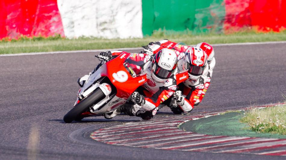 Haruchi Noguchi leads