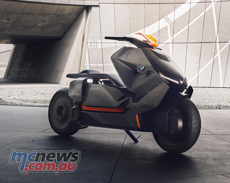 bmw motorrad concept link new urban mobility. Black Bedroom Furniture Sets. Home Design Ideas