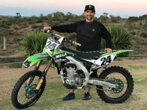 Brett Metcalfe Joins MEGA Bulk Fuels Monster Energy Kawasaki Racing Team