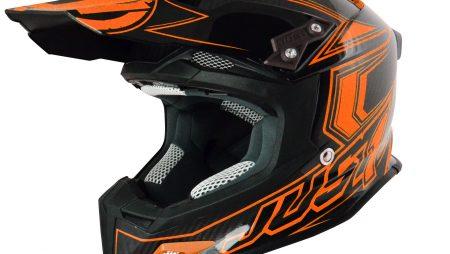 Just1 helmet range expands | J12 Carbon Fluro arrives