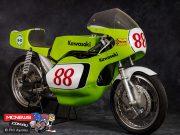 The 250cc 1972 Kawasaki S1R