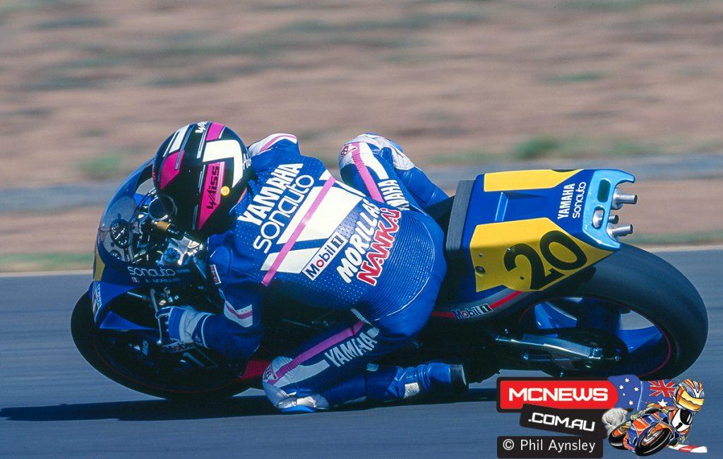 Adrien Morillas/Yamaha YZR500