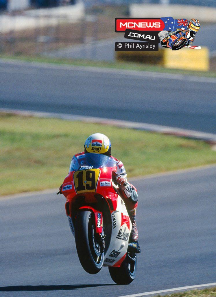 John Kocinski and the Yamaha YZR500