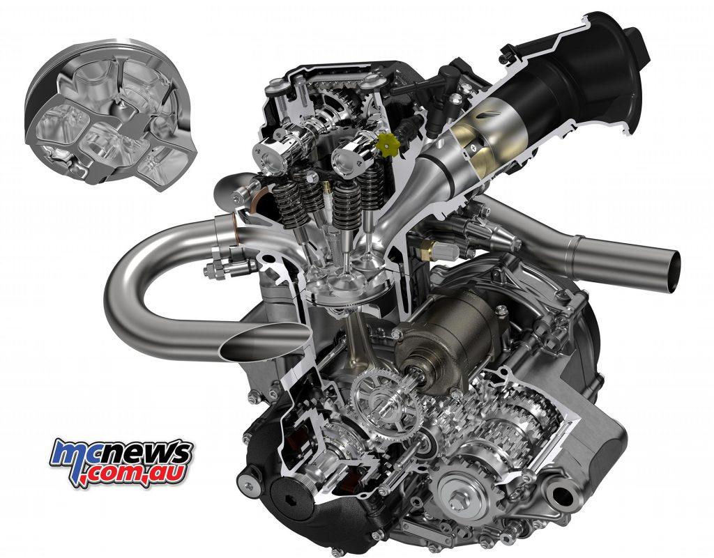 2018 Crf250r New Dohc Engine Crf450r Chassis Mcnews Com Au