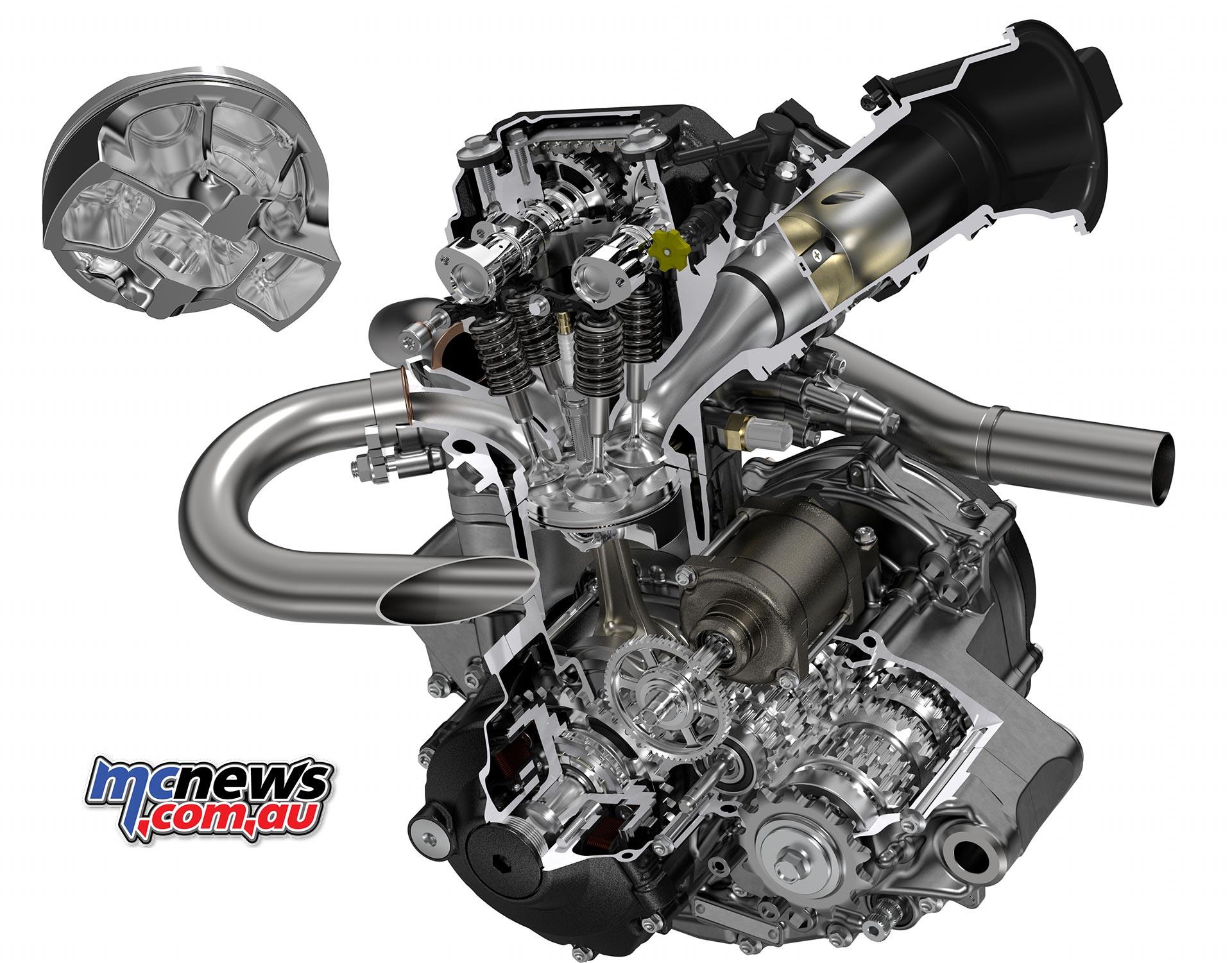 2018 CRF250R New DOHC engine | CRF450R Chassis | MCNews.com.au