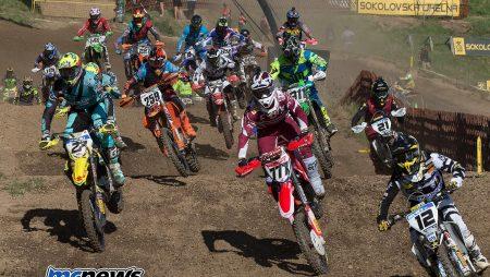 Tim Gajser and Tony Cairoli share MXGP wins at Loket