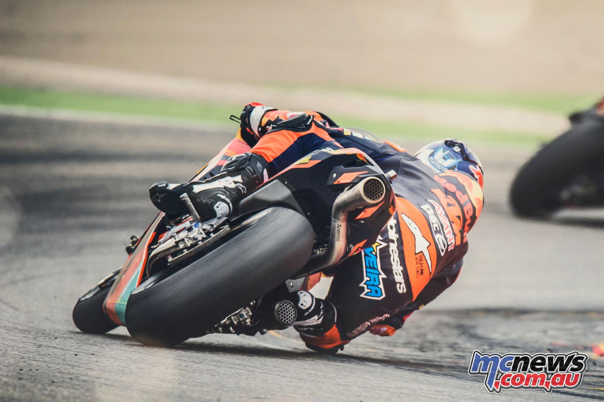 Ktm Motogp Factory Racing Positive After Spanish Test