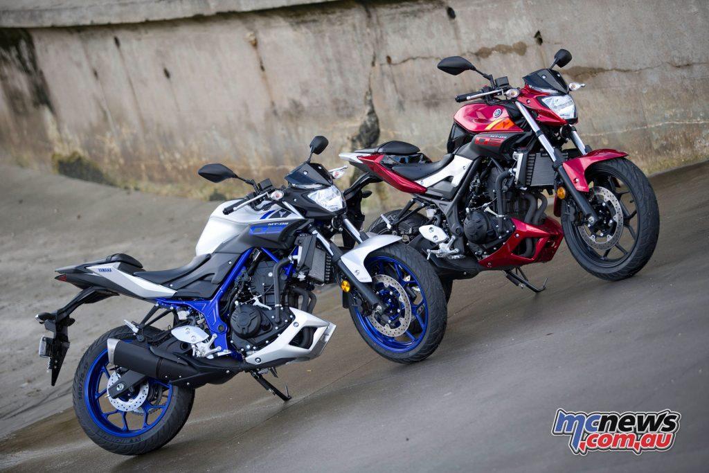 Yamaha's MT-03
