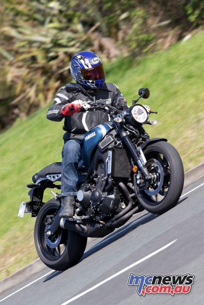 Yamaha's XSR900 really impresses