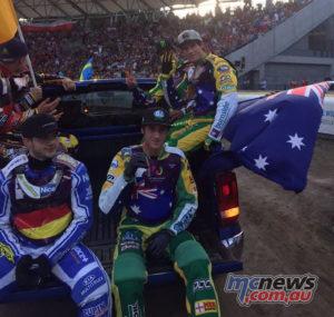 Australian Speedway Team took silver at the 2017 World Games