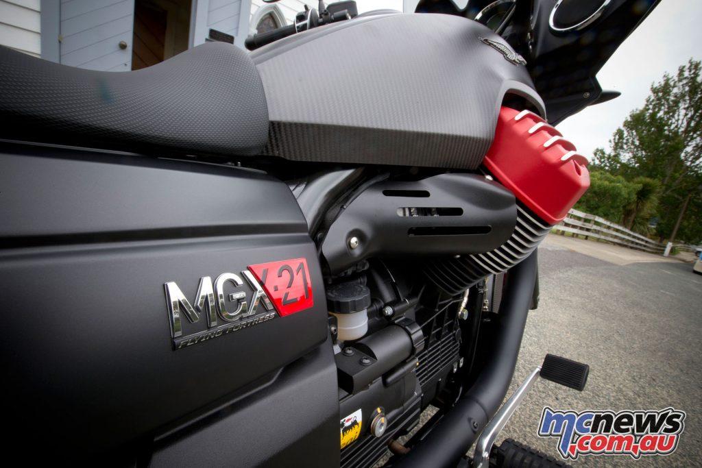 Moto Guzzi MGX-21 Flying Fortress