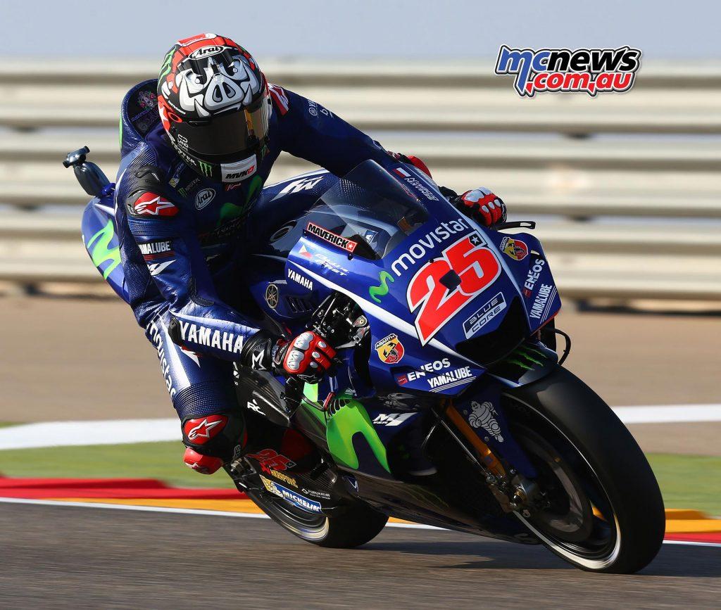 Maverick Vinales - Aragon MotoGP 2017 - Image by AJRN