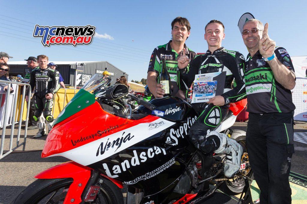 Reid Battye - Supersport 300 - Under 300cc Champion