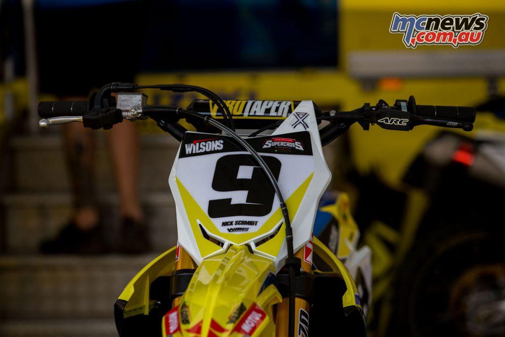 Nick Schmidt's ASX Suzuki