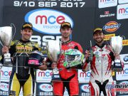 BSB Silverstone Race 1 Podium