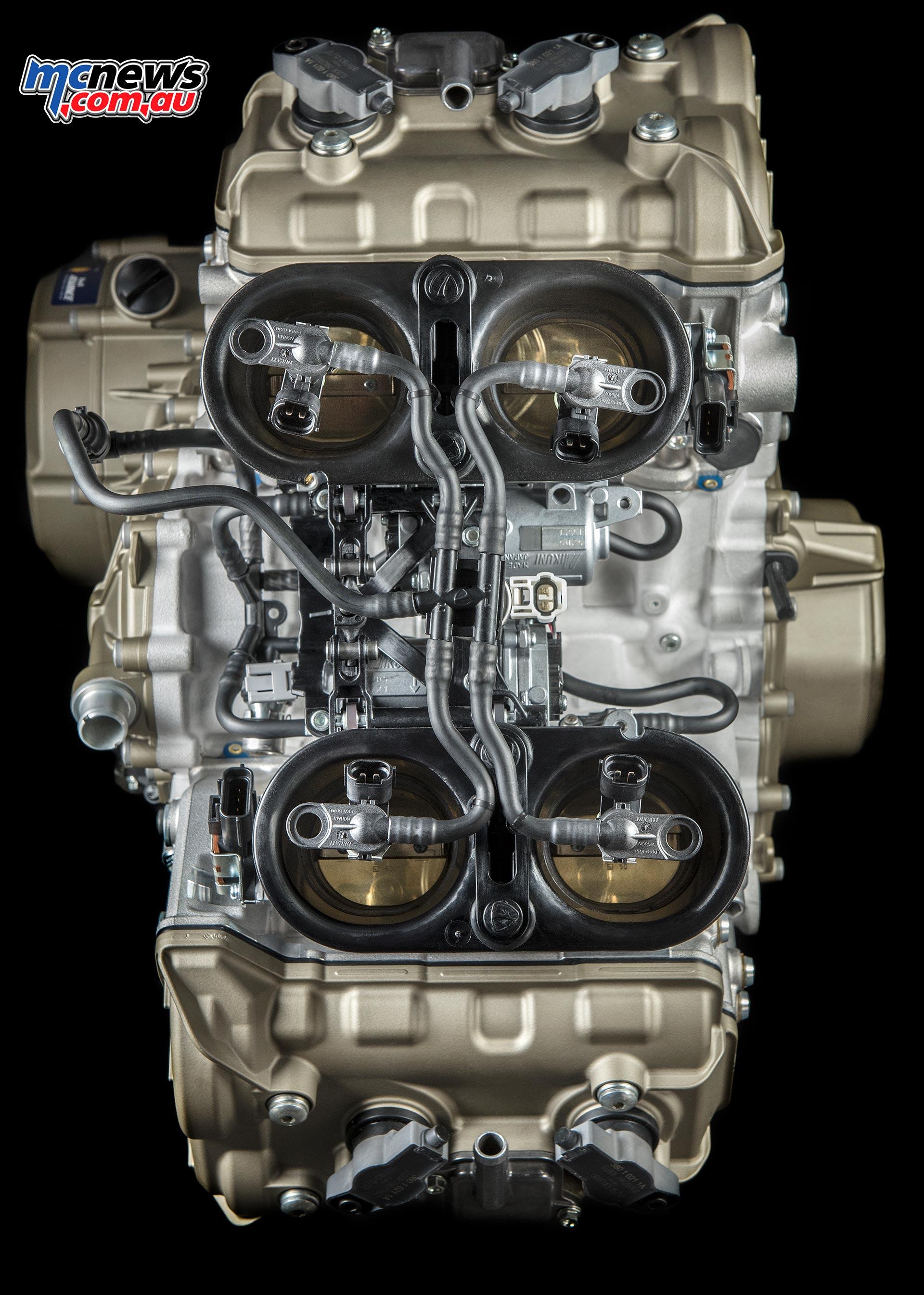 Ducati Desmosedici Stradale Engine | 1103cc V-4 | MCNews.com.au