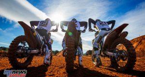 Rockstar Energy Husqvarna Factory Racing will feature eight riders in the MXoN