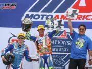 Toni Elias wins the MotoAmerica Superbike title