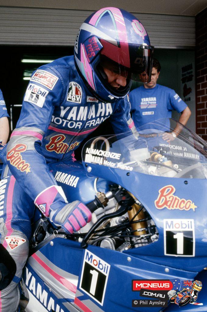 Niall McKenzie / Yamaha YZR500