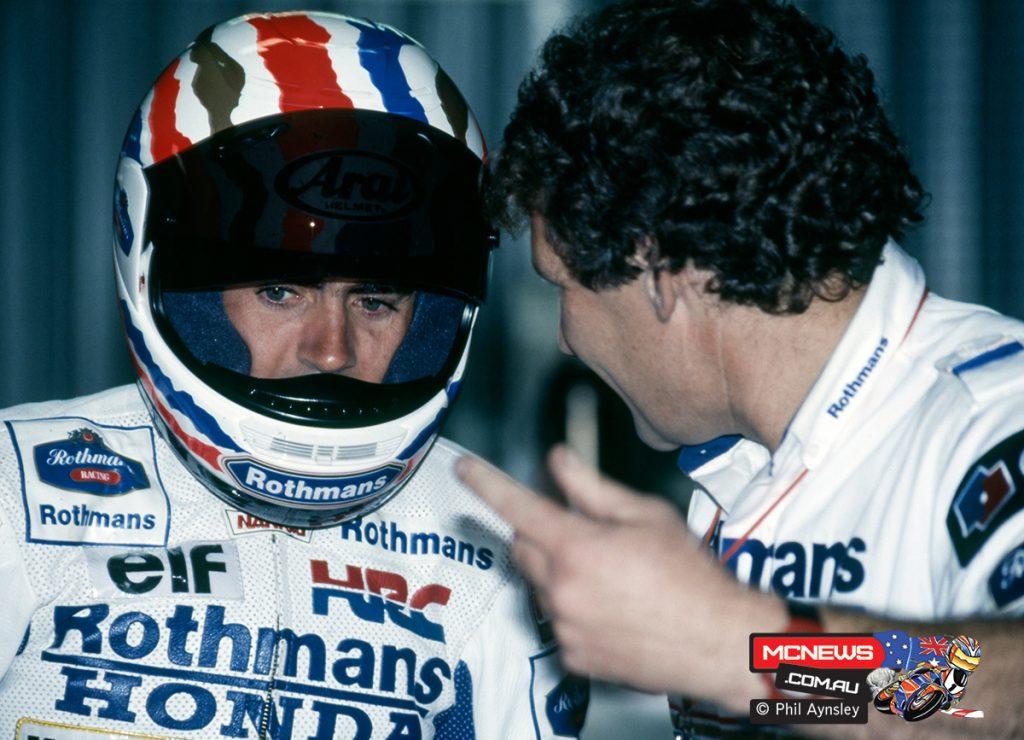 Mick Doohan & Jeremy Burgess