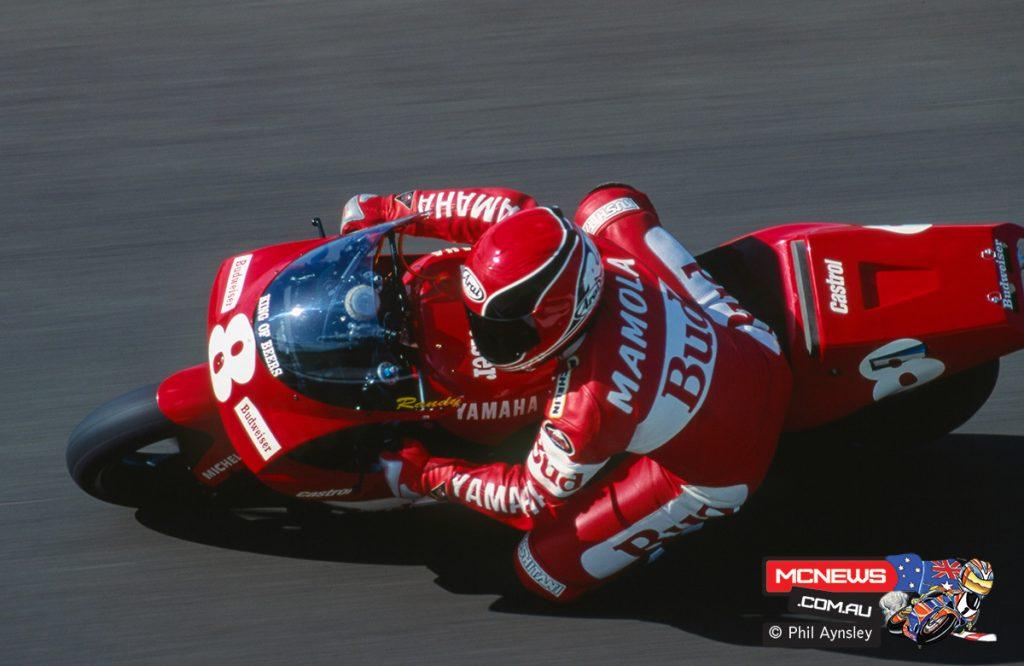 Randy Mamola / Yamaha YZR500