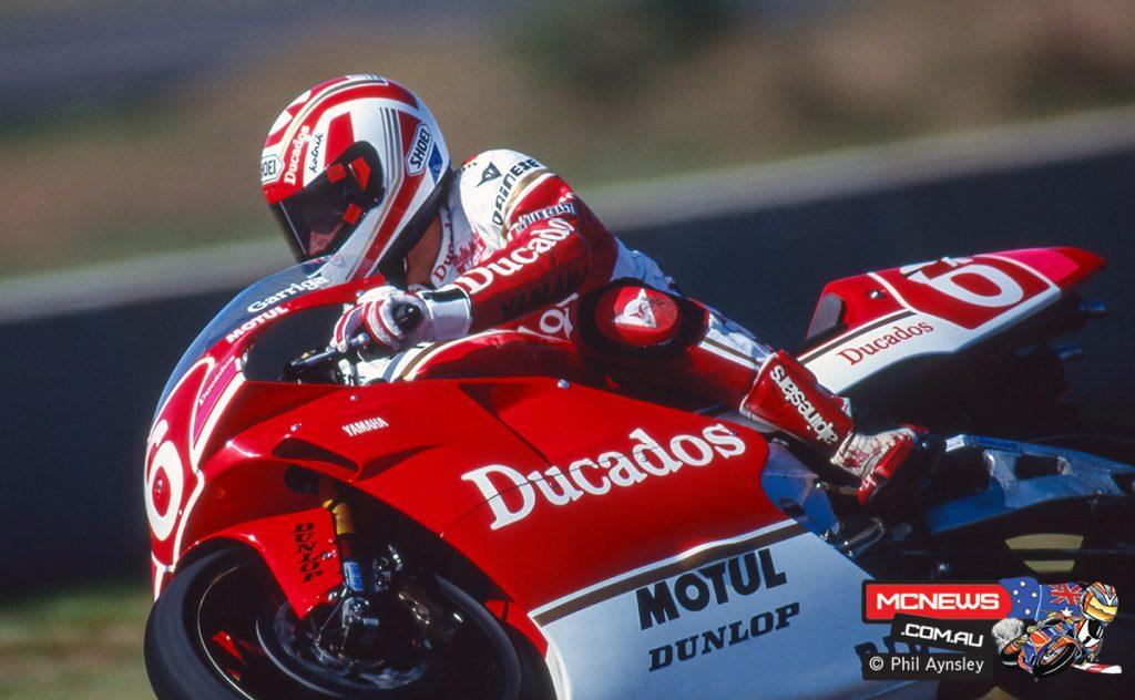 Juan Garriga / Yamaha YZR500