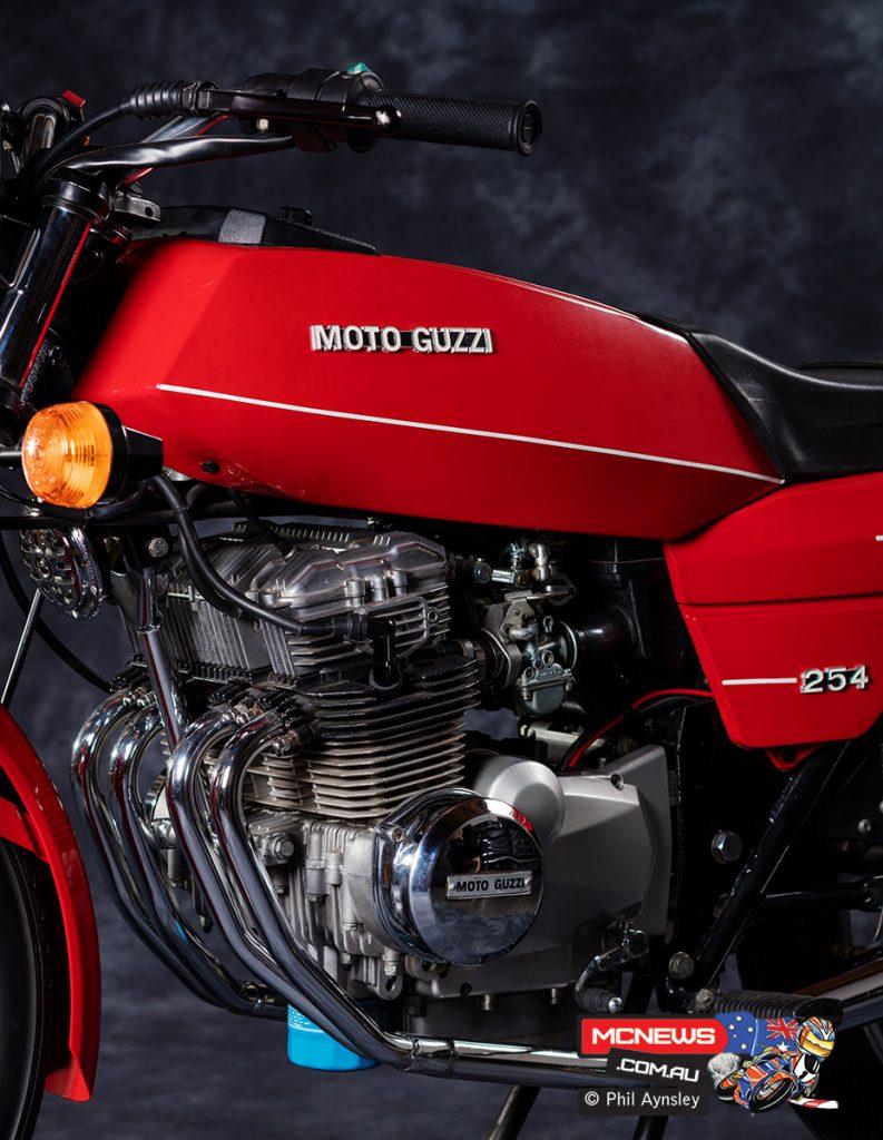Moto Guzzi 254 (250 four-cylinder)