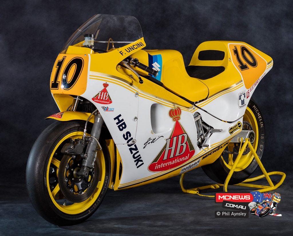 Roberto Galina HB Suzuki Team TGA1