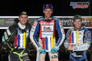 Matej Zagar topped the SGP Germany podium ahead of Martin Vaculik and Jason Doyle