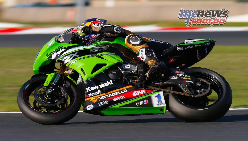 Kenan Sofuoglu Kawasaki Puccetti Racing